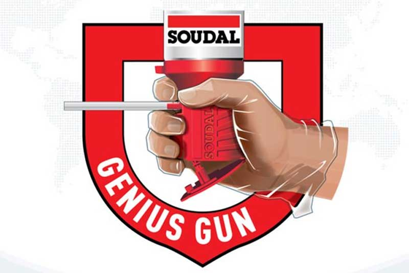 Genius Gun Expanding Foam