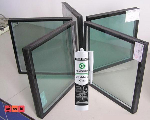 چسب شیشه دوجداره پیلکینگتون