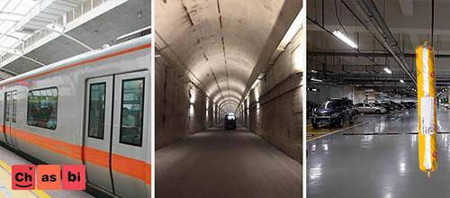 پلی اورتان درزبند در ساخت تونل ها