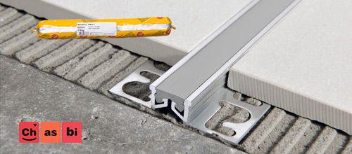 چسب سیکا برای اتصالات مفصلی در کف